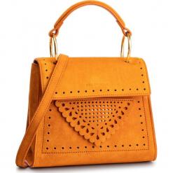 Torebka COCCINELLE - D10 B14 Lace Suede E1 D10 55 77 01 Flash Orange R12. Brązowe torebki klasyczne damskie Coccinelle, ze skóry. Za 1299,90 zł.