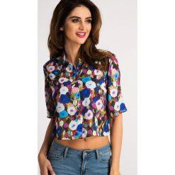 Multikolor Koszula Fullprint Floral 21113. Szare koszule damskie Fasardi, l. Za 44,00 zł.
