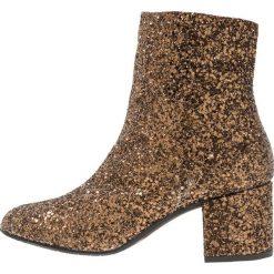 ANGULUS Botki brown glitter. Brązowe botki damskie skórzane ANGULUS, klasyczne. Za 879,00 zł.