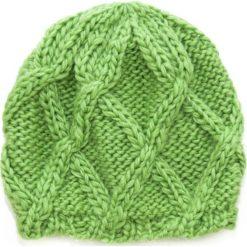 Czapka damska Zimowe deltoidy zielona. Zielone czapki zimowe damskie Art of Polo, na zimę. Za 36,52 zł.