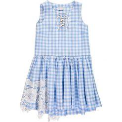 Sukienki dziewczęce z falbanami: Mek – Sukienka dziecięca 140-170 cm
