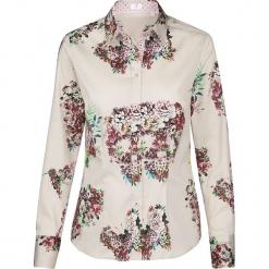 Bluzka - Modern fit - w kolorze beżowym ze wzorem. Brązowe topy sportowe damskie Seidensticker. W wyprzedaży za 127,95 zł.