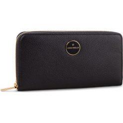 Duży Portfel Damski COCCINELLE - C45 Lunaire E2 C45 11 04 01 Noir 001. Czarne portfele damskie marki Coccinelle. Za 599,90 zł.