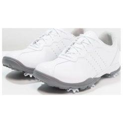 Buty sportowe damskie: adidas Golf ADIPURE DC Obuwie do golfa footwear white/silver metallic