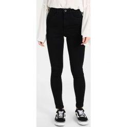 Only Petite ONLROYAL HIGH Jeans Skinny Fit black denim. Czarne rurki damskie Only Petite, petite. Za 129,00 zł.