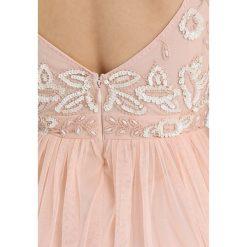 Sukienki hiszpanki: Lace & Beads Petite BISMA SKATER Sukienka koktajlowa nude