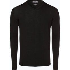 Swetry klasyczne męskie: Finshley & Harding – Sweter męski, czarny