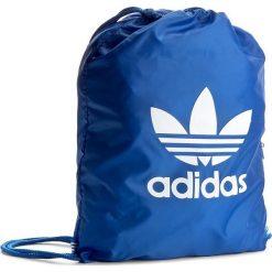 Plecak adidas - Gymsack Trefoil BJ8358 Blue. Niebieskie plecaki męskie Adidas, z materiału, sportowe. Za 54,95 zł.