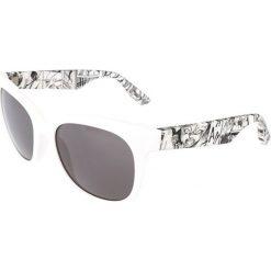 """Okulary przeciwsłoneczne damskie aviatory: Okulary przeciwsłoneczne """"0001/S RHM/Y1"""" w kolorze biało-czarnym"""
