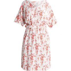 Sukienki hiszpanki: Soyaconcept TIMIA  Sukienka letnia peach orange