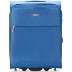 Walizka kabinowa V25-3S-241-90. Niebieskie walizki marki Wittchen, małe. Za 99,00 zł.