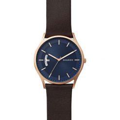 Zegarek SKAGEN - Holst SKW6395 Brown/Rose Gold. Brązowe zegarki męskie Skagen. W wyprzedaży za 549,00 zł.