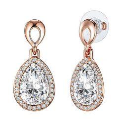 Kolczyki damskie: Kolczyki-wkrętki z kryształami Swarovski