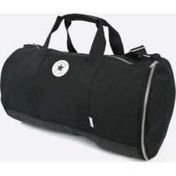 Converse - Torba. Czarne torebki klasyczne damskie marki Converse, w paski, z materiału. Za 299,90 zł.
