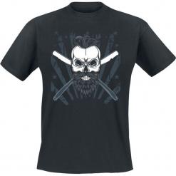 Barber Skull T-Shirt czarny. Czarne t-shirty męskie Barber Skull, xl. Za 74,90 zł.