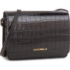 Torebka COCCINELLE - CV3 Mini Bag E5 CV3 55 D6 09  Noir 001. Czarne listonoszki damskie marki Coccinelle, ze skóry. Za 949,90 zł.