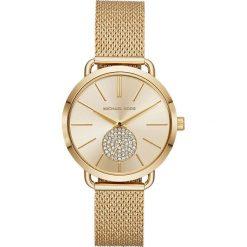 Zegarek MICHAEL KORS - Portia MK3844  Gold/Gold. Żółte zegarki damskie Michael Kors. Za 1050,00 zł.