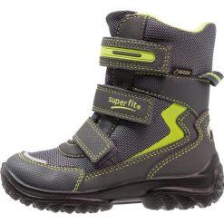 Superfit SNOWCAT Śniegowce stone. Szare buty zimowe chłopięce marki Superfit, z materiału. W wyprzedaży za 191,95 zł.