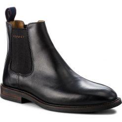 Sztyblety GANT - Ricardo 17651884 Black G00. Czarne sztyblety męskie marki GANT, ze skóry. Za 739,90 zł.