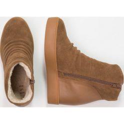 Botki damskie lity: Shoe The Bear TRISH  Botki na obcasie brown