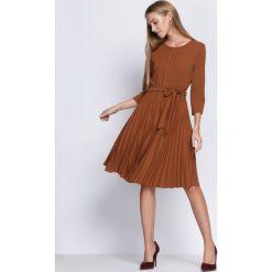 Sukienki: Brązowa Sukienka Forever