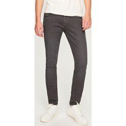 Rurki męskie: Spodnie skinny fit – Szary