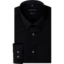 Koszula MICHELE KDCE000268. Czarne koszule męskie jeansowe marki Giacomo Conti, m, z klasycznym kołnierzykiem. Za 169,00 zł.