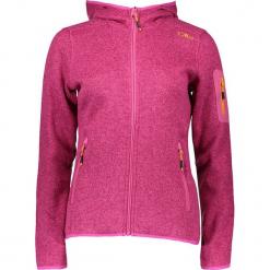 Kurtka polarowa w kolorze fuksji. Czerwone kurtki damskie marki CMP Women, z dzianiny. W wyprzedaży za 172,95 zł.
