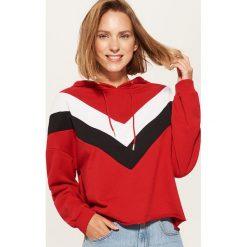 Bluza z kapturem - Czerwony. Czerwone bluzy z kapturem damskie marki Reserved, l. Za 79,99 zł.