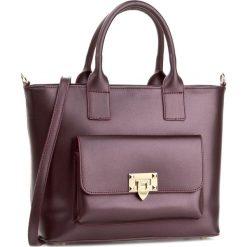 Torebka CREOLE - K10420  Fioletowy. Fioletowe torebki klasyczne damskie Creole, ze skóry. W wyprzedaży za 259,00 zł.