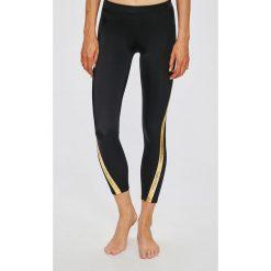 Calvin Klein Jeans - Legginsy. Czarne jegginsy damskie marki bonprix, z podwyższonym stanem. Za 299,90 zł.