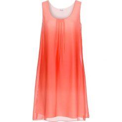 Sukienki: Sukienka szyfonowa bonprix czerwony batikowy