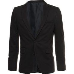 Marynarki męskie slim fit: Burton Menswear London Marynarka garniturowa black