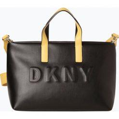 DKNY - Torebka damska, czarny. Czarne torebki klasyczne damskie DKNY, z tłoczeniem. Za 599,95 zł.