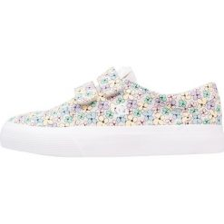 DC Shoes TRASE V SP Tenisówki i Trampki multicolor. Szare trampki dziewczęce DC Shoes, z materiału. Za 239,00 zł.