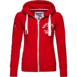 Superdry Bluza rozpinana red/white. Czerwone kardigany damskie Superdry, xs, z bawełny. Za 379,00 zł.