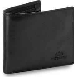 Duży Portfel Męski WITTCHEN - 02-1-040-1  Czarny. Czarne portfele męskie Wittchen, ze skóry. Za 299,00 zł.