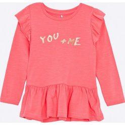 Bluzki dziewczęce bawełniane: Name it - Bluzka dziecięca Dafriends 92-128 cm