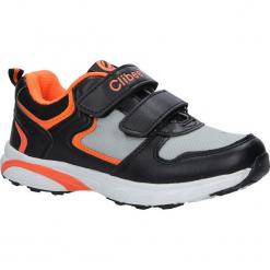 Czarne buty sportowe na rzepy ze skórzaną wkładką Casu F-698. Czarne buciki niemowlęce Casu, na rzepy. Za 69,99 zł.
