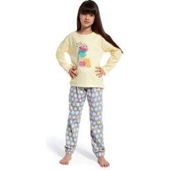 Bielizna chłopięca: piżama  time to rest żółty r. 122/128 (972/83 )