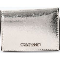 Calvin Klein - Portfel damski, szary. Szare portfele damskie marki Calvin Klein, ze skóry. Za 229,95 zł.