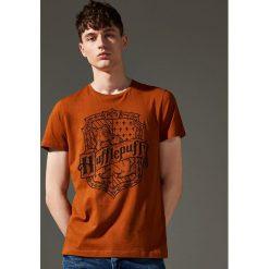 T-shirt Harry Potter - Brązowy. Brązowe t-shirty męskie House, l. Za 49,99 zł.