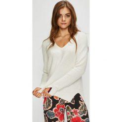 Tommy Jeans - Sweter. Szare swetry klasyczne damskie marki Tommy Jeans, s, z bawełny. Za 399,90 zł.