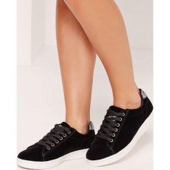 Missguided - Buty. Różowe buty sportowe damskie marki Missguided, z materiału. W wyprzedaży za 59,90 zł.