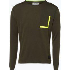 Marc O'Polo Denim - Sweter męski, zielony. Zielone swetry klasyczne męskie Marc O'Polo DENIM, m, z nadrukiem, z denimu, polo. Za 199,95 zł.
