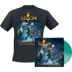 Arion Life is not beautiful LP + T-Shirt standard. Szare t-shirty damskie Arion, xl. Za 134,90 zł.