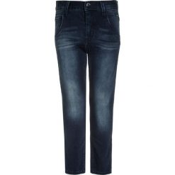 Name it NITCLASSIC Jeansy Slim Fit dark blue denim. Czerwone jeansy chłopięce marki Name it, l, z nadrukiem, z okrągłym kołnierzem. Za 139,00 zł.