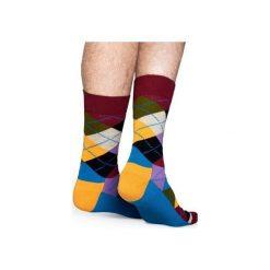 Skarpetki Happy Socks  AR01-048. Czerwone skarpetki męskie Happy Socks, z bawełny. Za 24,43 zł.