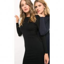 Dzianinowa sukienka z wiązaniem. Brązowe sukienki dzianinowe marki Orsay, s. Za 99,99 zł.
