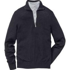 Sweter Regular Fit bonprix czarny. Czarne swetry klasyczne męskie marki bonprix, l. Za 109,99 zł.